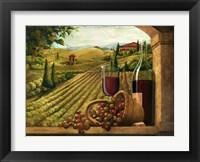 Framed Vineyard Window