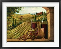 Framed Vineyard Window