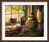Framed Wine By The Window I