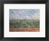 Framed Wheatfield with Lark, 1887