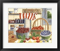 Framed Berries and Cream