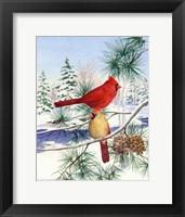 Framed Cedar Farms Cardinals II
