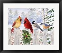 Framed Fence Friends