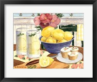 Framed Fresh Lemonade