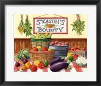 Framed Season's Bounty