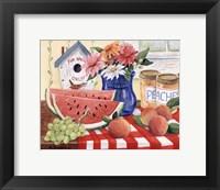 Framed Watermelon Season