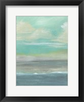 Lowland Beach I Framed Print