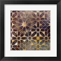 Mystic Tiles I Framed Print