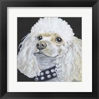 Framed Dlynn's Dogs - Harley