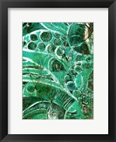Framed Sea Glass I