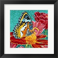 Framed Poised Butterfly I