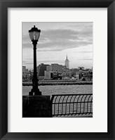Battery Park City II Framed Print
