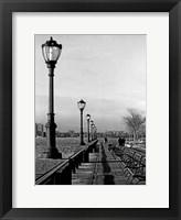 Battery Park City III Framed Print