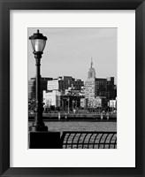 Framed Battery Park City IV