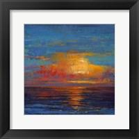 Framed Sun Down I