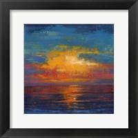 Framed Sun Down II