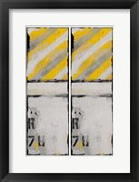 2-Up Route 78 I Framed Print