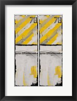 2-Up Route 78 II Framed Print