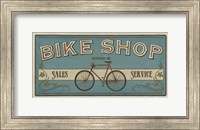 Framed Bike Shop I