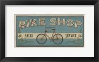 Framed Bike Shop I