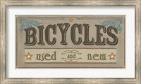 Framed Bike Shop IV