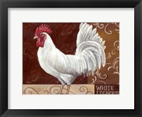 Framed Rustic Roosters IV