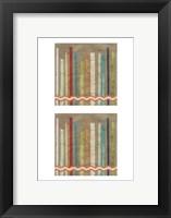 2-Up Paper Fences III Framed Print
