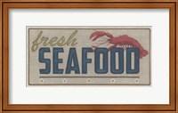 Framed Shoreline Signs I
