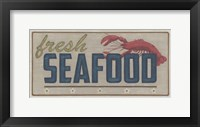 Framed Shoreline Signs I
