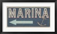 Framed Shoreline Signs II