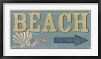 Framed Shoreline Signs III