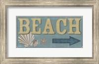 Framed Shoreline Signs III
