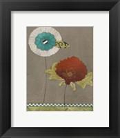 Framed Petal Patterns VII