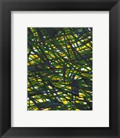 Framed Green Thicket I