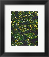 Framed Green Thicket II