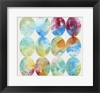Merging Color I Framed Print