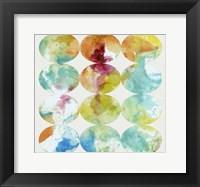 Merging Color II Framed Print