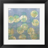 Spotlight Floral I Framed Print