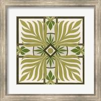 Framed Non-Embellished Palm Motif II