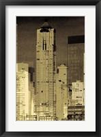 Nightline II Framed Print