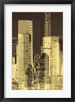 Nightline III Framed Print