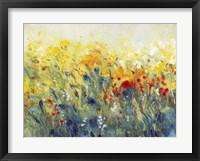 Framed Flowers Sway I