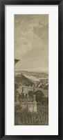 Framed Pastoral Panorama I
