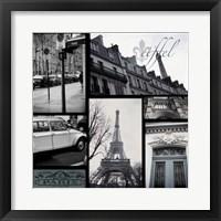 Framed Snapshots of Paris