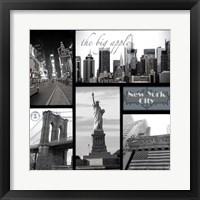 Framed Snapshots of New York