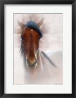 Framed Horse Portrait I