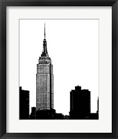 Framed NYC Skyline I