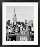 NYC Skyline II Framed Print