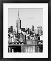 NYC Skyline II Framed Print
