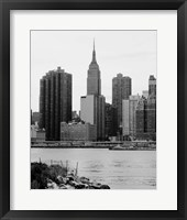 NYC Skyline III Framed Print